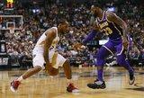 """""""Raptors"""" devintą kartą iš eilės įveikė """"Lakers"""""""