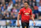 """Beprotiška suma: kiek """"Manchester United"""" kainuoja vienas A.Sanchezo įvartis?"""