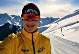 Skandinavijos slidinėjimo taurės varžybose lietuviai dalyvavo tik sprinte
