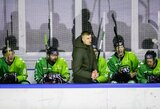 Dviem savaitėms stabdomas Lietuvos ledo ritulio čempionatas