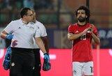 Traumą patyręs M.Salah paliko Egipto rinktinę ir sugrįžo į Liverpulį