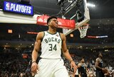 """""""Bucks"""" iškovojo didžiausią pergalę atkrintamųjų istorijoje"""