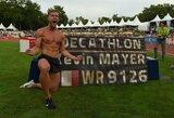 K.Mayeris su kaupu pagerino trejus metus gyvavusį pasaulio dešimtkovės rekordą
