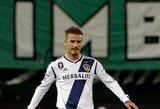D.Beckhamas pelnė įvartį nuo kampinio gairelės