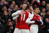 """Londono derbyje triumfavo fantastiškai pirmo kėlinio pabaigą sužaidę """"Arsenal"""""""