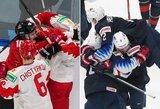 Vilčių rusams nepalikę kanadiečiai pasaulio čempionato finale susikaus su suomius paskutinę minutę palaužusiais amerikiečiais