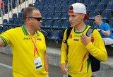 B.Mickui nepavyko prasibrauti į pasaulio jaunimo lengvosios atletikos čempionato finalą