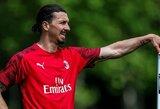 """Oficialu: Z.Ibrahimovičius su """"AC Milan"""" pasirašė vienerių metų kontraktą"""