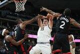 """""""Raptors"""" be J.Valančiūno pralaimėjo antrą kartą iš eilės"""