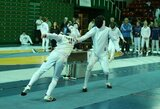 Europos jaunimo fechtavimo čempionate R.Juknai lemtingu tapo vienas dūris