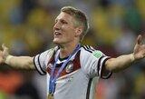"""""""Bayern"""" futbolininkai liūdi dėl B.Schweinsteigerio išvykimo"""