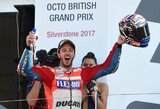 """Drama tęsiasi – M.Marquezo motociklas sugedo, """"MotoGP"""" turi naują lyderį"""