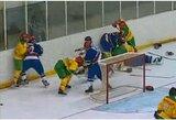 Sena priešprieša atgimsta: paaiškėjo visos Lietuvos ledo ritulio rinktinės varžovės kitų metų pasaulio IB čempionate