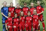 Lietuvos WU-17 merginų futbolo rinktinė iškovojo Baltijos taurę