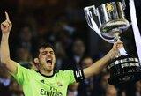 Ispanijos legenda I.Casillasas oficialiai baigia karjerą