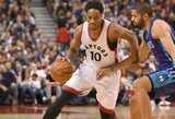 """""""Raptors"""" treneris rengia pokyčius – privers dalintis kamuoliu"""