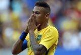 Brazilai olimpinių žaidynių starte neįveikė Pietų Afrikos rinktinės