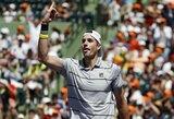 J.Isneris pirmą kartą karjeroje laimėjo ATP 1000 serijos turnyrą