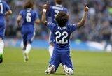"""Willianas pripažino, kad """"Chelsea"""" klube liko, nes iš vyriausiojo trenerio pareigų pasitraukė A.Conte"""
