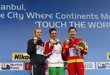 R.Meilutytė iškovojo pasaulio plaukimo čempionato sidabrą!