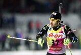Lietuvos vyrai pasaulio biatlono taurės etape Švedijoje nepateko į persekiojimo lenktynes