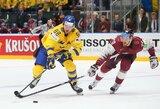 Per plauką nuo sensacijos prieš pasaulio čempionus buvę latviai liko už ketvirtfinalio borto