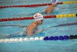 Plaukikų dinastijos atžala už Atlanto skina bendraamžių rekordus