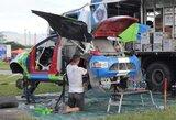 V.Žalos ir S.Jurgelėno komanda antroje Dakaro pusėje pasiruošusi kovoti dėl vietos 40-uke
