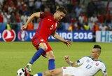 Anglijos žaidėjai nusivylė rezultatu, o Slovakijos treneris pareiškė, kad anglai geresni už Velsą