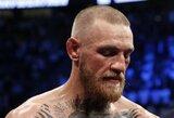 """C.Nurmagomedovas: """"Reikėjo žmonėms parodyti, kaip C.McGregoras veidu tėškiasi į ringą"""""""