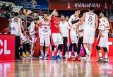 Japonų talentą pristabdę turkai iškovojo pergalę