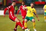 Europos čempionato atranka: pirmą rungtynių įvartį pelniusi Lietuva neatsilaikė prieš Liuksemburgą
