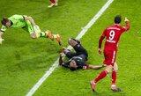 """93-ąją minutę pergalę išplėšęs """"Bayern"""" pakilo į """"Bundesliga"""" čempionato viršūnę"""