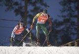 K.Dombrovskis pasaulio biatlono čempionato sprinte pateko į pajėgiausių 40-uką