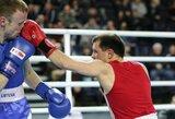 M.Vyšniauskui Europos bokso čempionatas baigėsi po pirmosios kovos