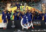 """Antrajame kėlinyje """"Arsenal"""" sutriuškinę """"Chelsea"""" triumfavo Europos lygoje"""