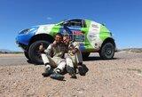 """""""Agrorodeo"""" komanda po 24 valandų dykumoje jau planuoja kitų metų Dakarą"""
