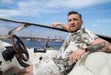 Naują jachtą įsigijęs C.McGregoras prisiminė gautą bedarbio pašalpą
