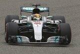 """M.Schumacherio rekordą pagerinęs L.Hamiltonas sunaikino """"Ferrari"""" viltis nugalėti kvalifikacijoje"""
