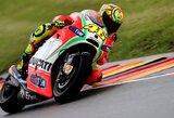 V.Rossi norėtų, kad Vokietijos motociklų GP lenktynės vyktų šlapioje trasoje