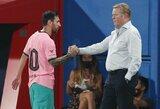 "R.Koemanas įsitikinęs – L.Messi vis dar pilnai atsidavęs ""Barcelonai"""