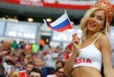 Internete paplitusi gražuolė Rusijos sirgalė pasirodo esanti porno žvaigždė