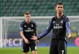 """""""Real"""" klubas gelbėjosi nuo pralaimėjimo Lenkijoje"""