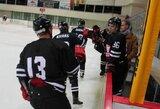 """Lietuvos ledo ritulio čempionato starte – įtikinama """"Hockey Punks"""" pergalė"""