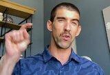 """M.Phelpsas atsivėrė apie karantiną koronaviruso pandemijos metu: """"Tai buvo pats sunkiausias laikas mano gyvenime"""""""