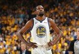 """S.Kerras: """"Durantas praleis pirmąsias finalo rungtynes, dėl Cousinso žaidimo abejojama"""""""