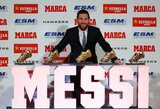 """Rekordinį penktą auksinį batelį laimėjęs L.Messi: """"Niekuomet neįsivaizdavau tokios sėkmės"""""""
