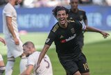Tris įvarčius paskutinėse reguliaraus sezono rungtynėse pelnęs C.Vela pagerino MLS lygos rekordą