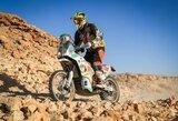 """""""Africa Eco Race"""" aštuntajame etape – dar vienas sėkmingas T.Jančio pasirodymas"""
