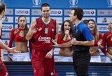 S.Jasaitis nepasižymėjo, o M.Kalnietis surinko 12 taškų